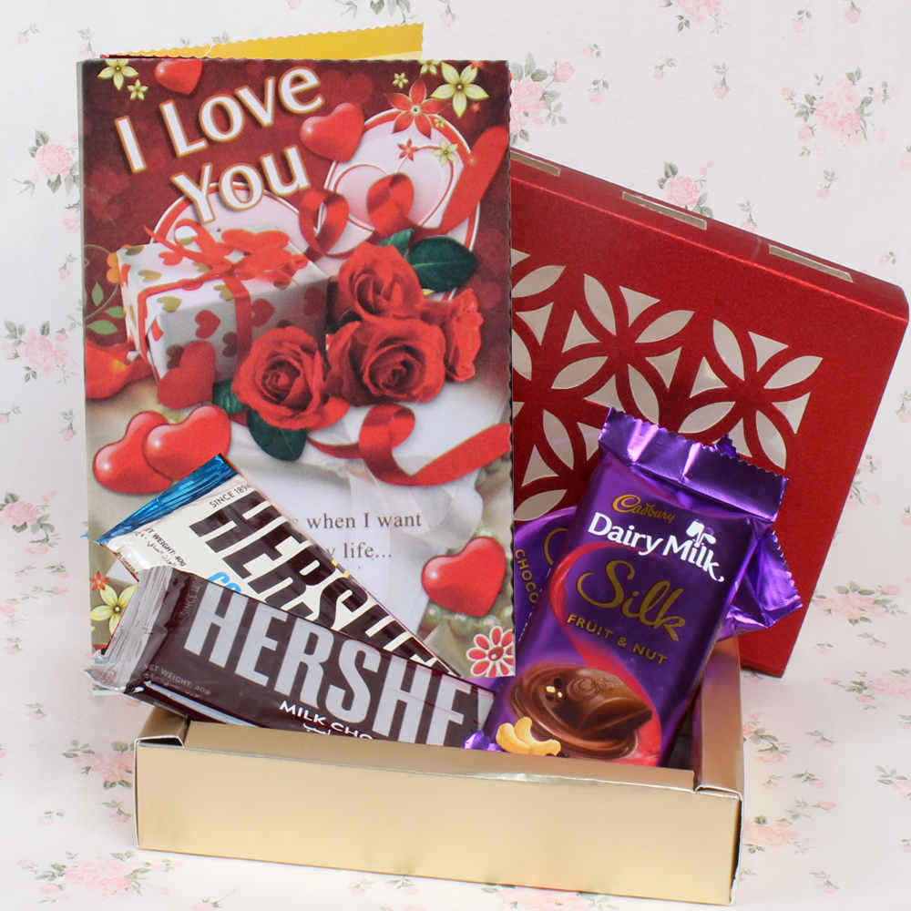 Chocolate Hamper for Valentines Day
