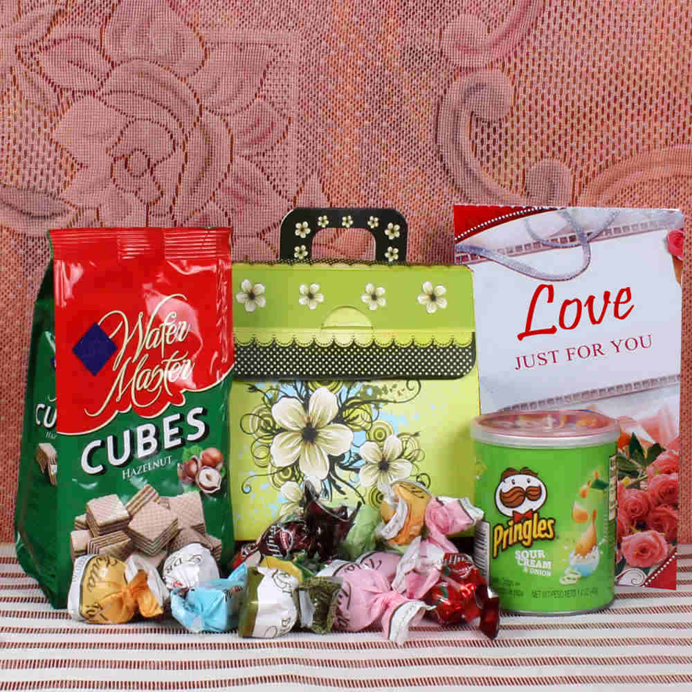 Perfect hamper for Valentines Day