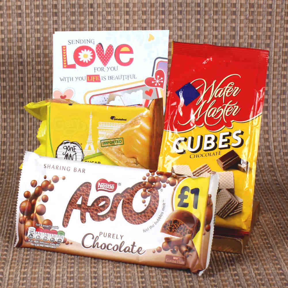 Imported Chocolate hamper for Valentines Day