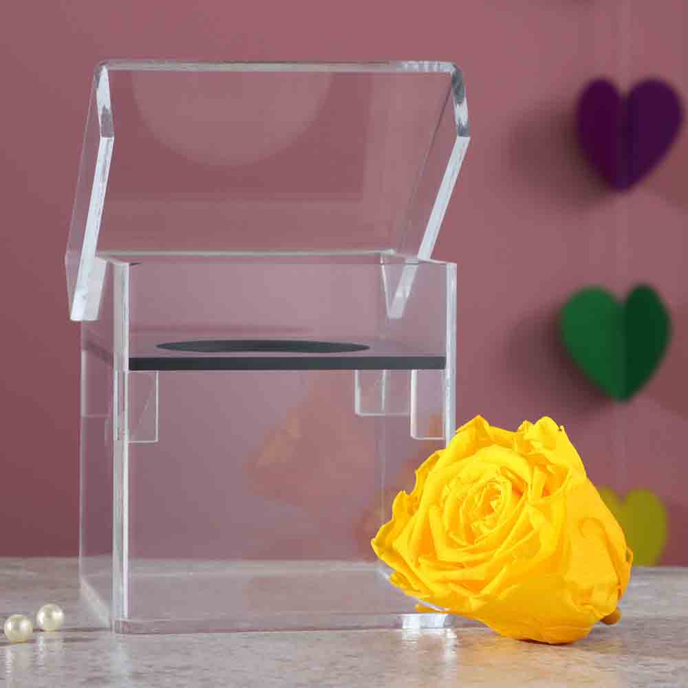 Forever Rose In Acrylic Box