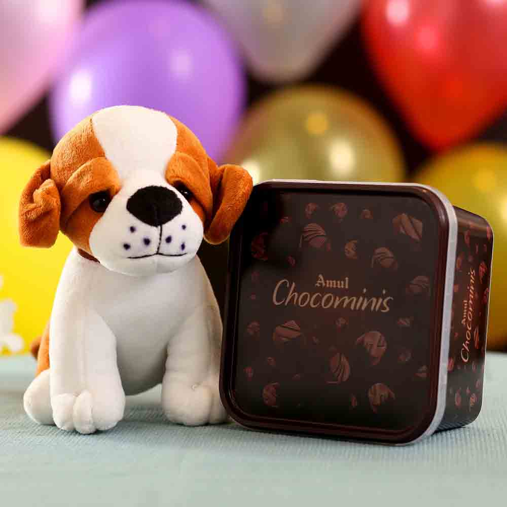 Adorable Dog Soft Toy Chocominis