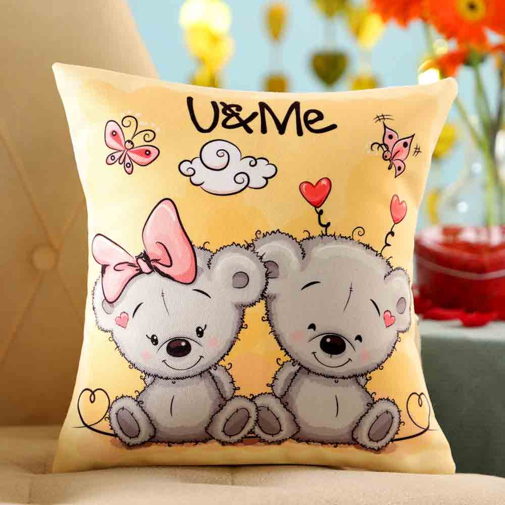 Adorable U Me Cushion