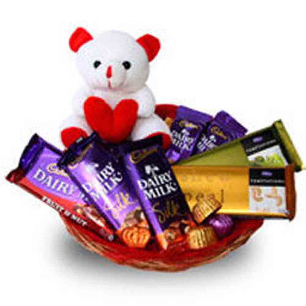 Chocolates-Branded Chocolate Basket