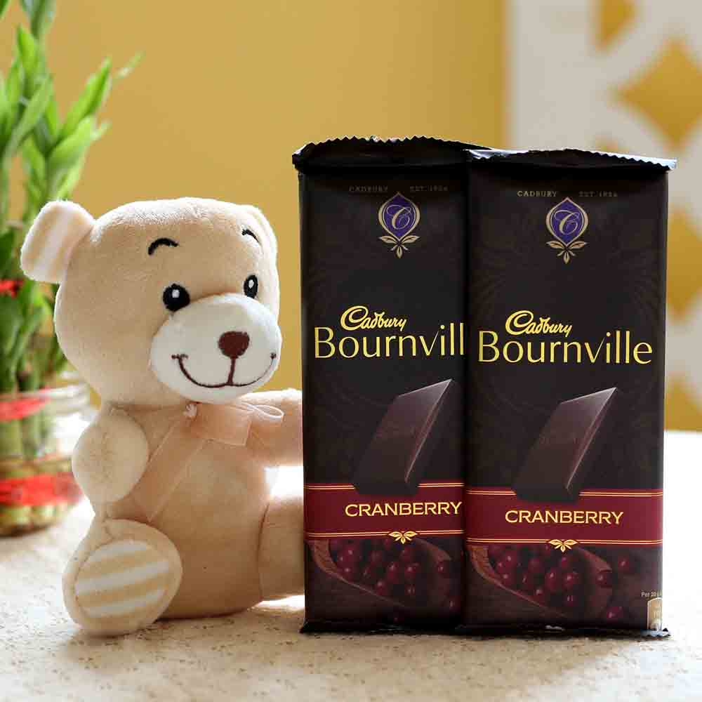 Bournville Cranberry Teddy Bear