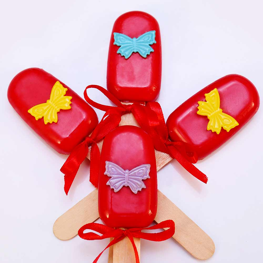 Butterfly Design Cakesicles