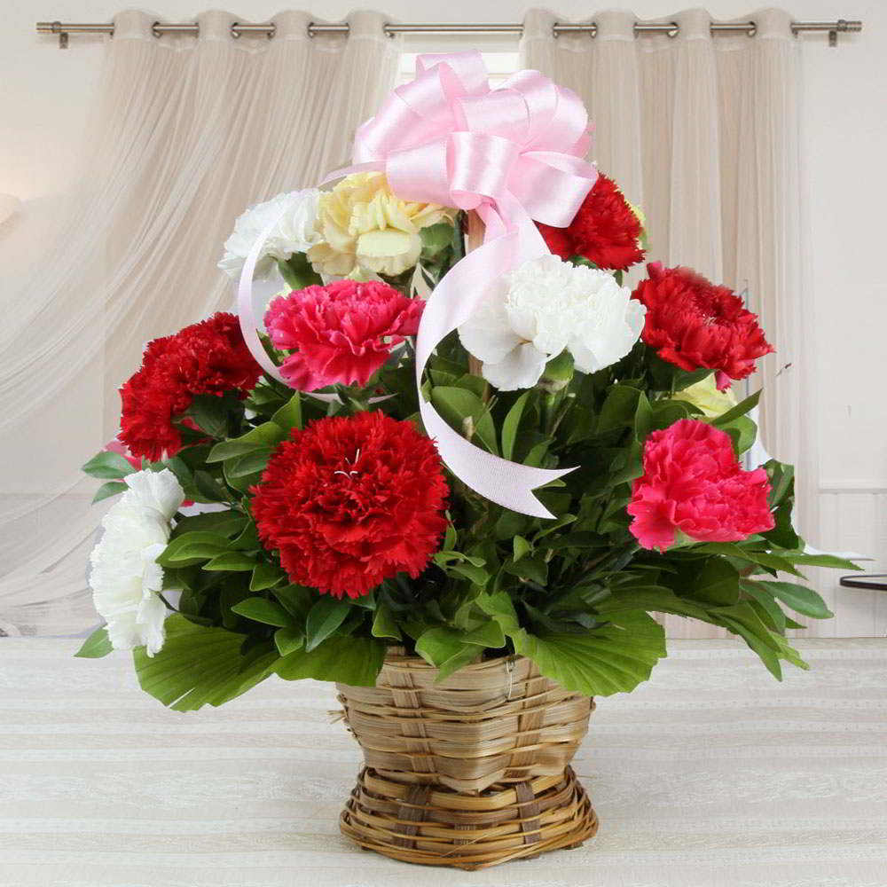 Valentines Special Arrangement of Mix Carnations