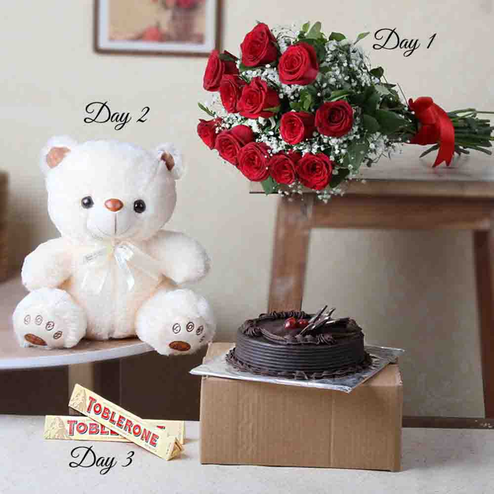 Three Days Valentine Gift for Someone Special