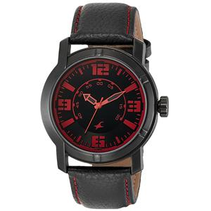 Fastrack Analog Black Dial Men's Watch - 3021NL01