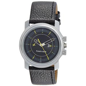 Fastrack Analog Black Dial Men's Watch-3039SL02