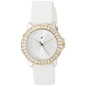 Fastrack Hip Hop Analog White Dial Women's Watch - NE9827PP01J