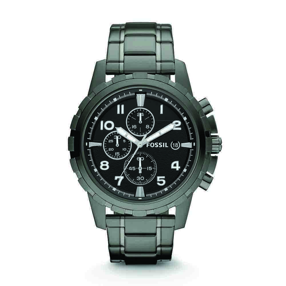 Fossil Dean Chronograph Black Dial Men's Watch