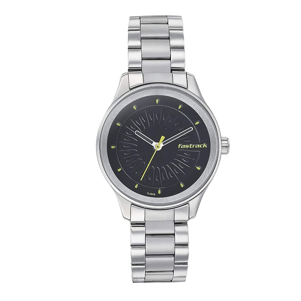 Fastrack Tropical Fruits Analog Black Dial Women's Watch