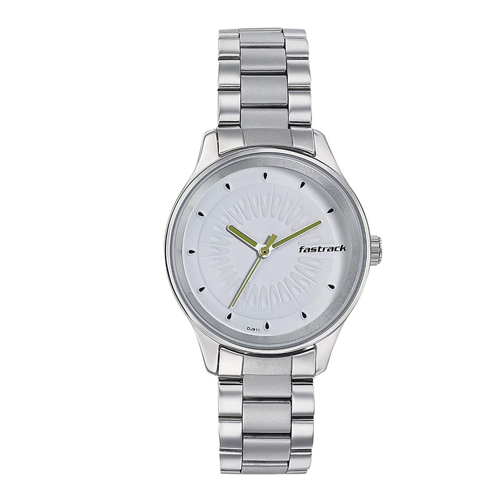 Fastrack Tropical Fruits Analog White Dial Women's Watch