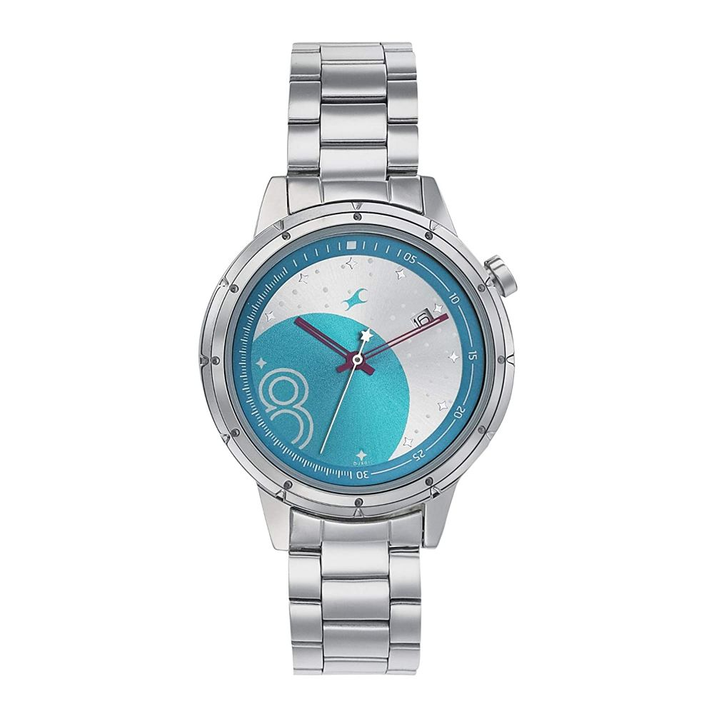 Fastrack Space Analog Blue Dial Women's Watch