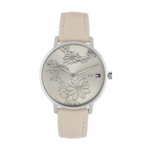 Tommy Hilfiger-Rose Gold Dial Pink Leather Strap Watch