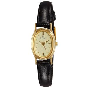 Titan Karishma Analog Gold Dial Women's Watch - NE2061YL02