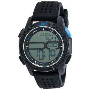 Sonata Digital Grey Dial Men's Watch-77057PP02