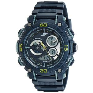 Sonata-Sonata Analog-Digital Dial Men's Watch - 77070PP04