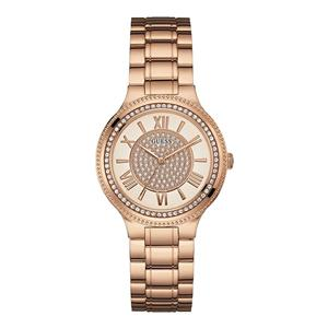 Guess Analog White Dial Watch For Women -W0637L3