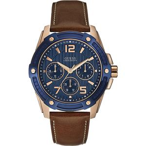 Guess Analog Blue Dial Men's Watch - W0600G3