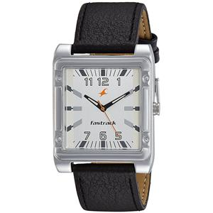 Fastrack Economy Analog White Dial Men's Watch - NE3040SL01