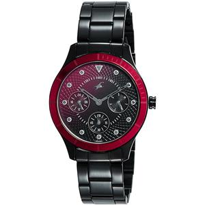 Fastrack Analog Black Dial Women's Watch-6163KM02