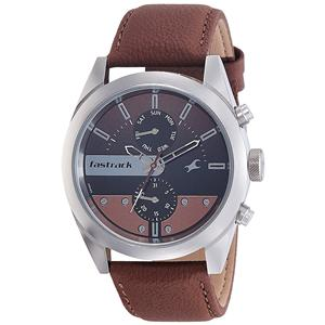 Fastrack Analog Black Dial Men's Watch-3165SL01