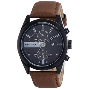 Fastrack Analog Black Dial Men's Watch-3165NL01