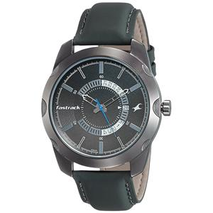 Fastrack Analog Black Dial Men's Watch-3123QL01