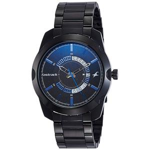Fastrack Analog Black Dial Men's Watch-3123NM01