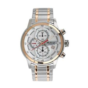 Titan Octane Chronograph Silver Dial Men's Watch - 90086KM02