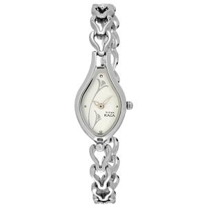 Titan Analog Multiclolor Dial Women's Watch - NK2457SM01