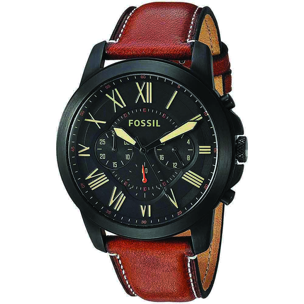 Fossil Chronograph Brown Dial Men's Watch