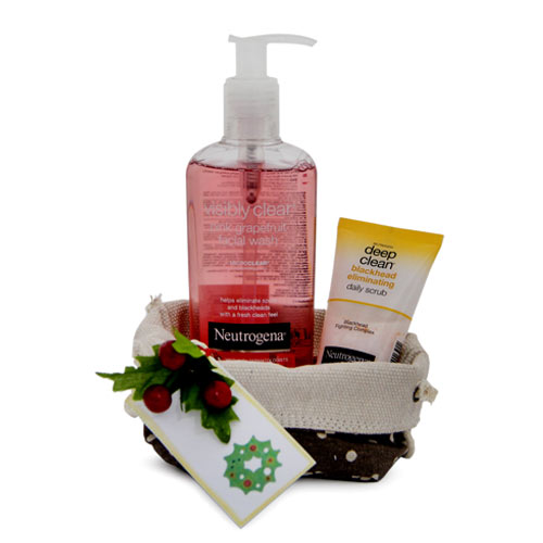 Christmas Hampers-Neutrogena Care Pouch
