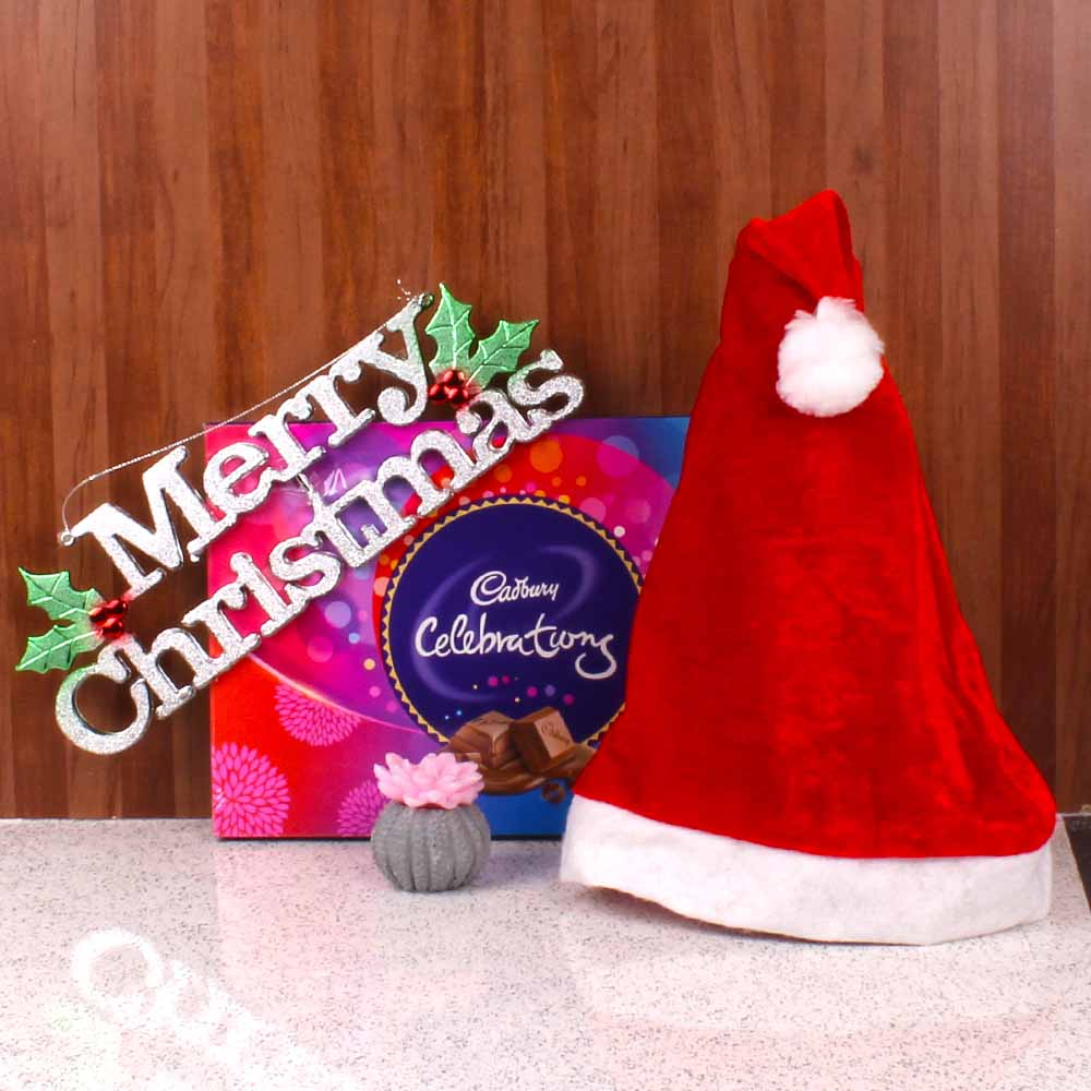 Christmas Hampers-Merry Christmast Celebration Gift Combo