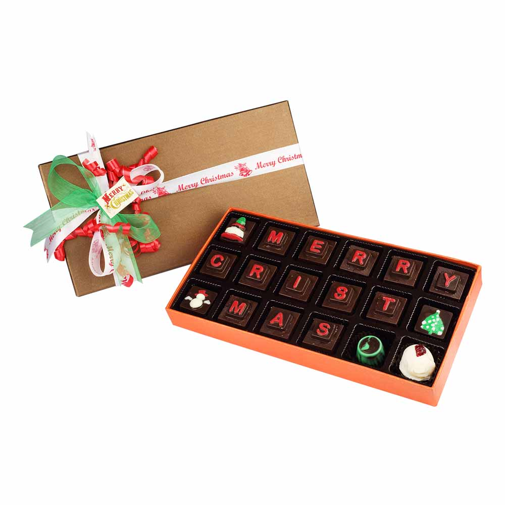 Chocolates & Cookies-Christmas Goodness