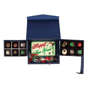 Chocolates & Cookies-Velvet Fine Chocolates' New year combo