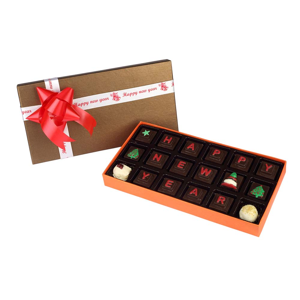 Velvet Fine Chocolates' New year delight