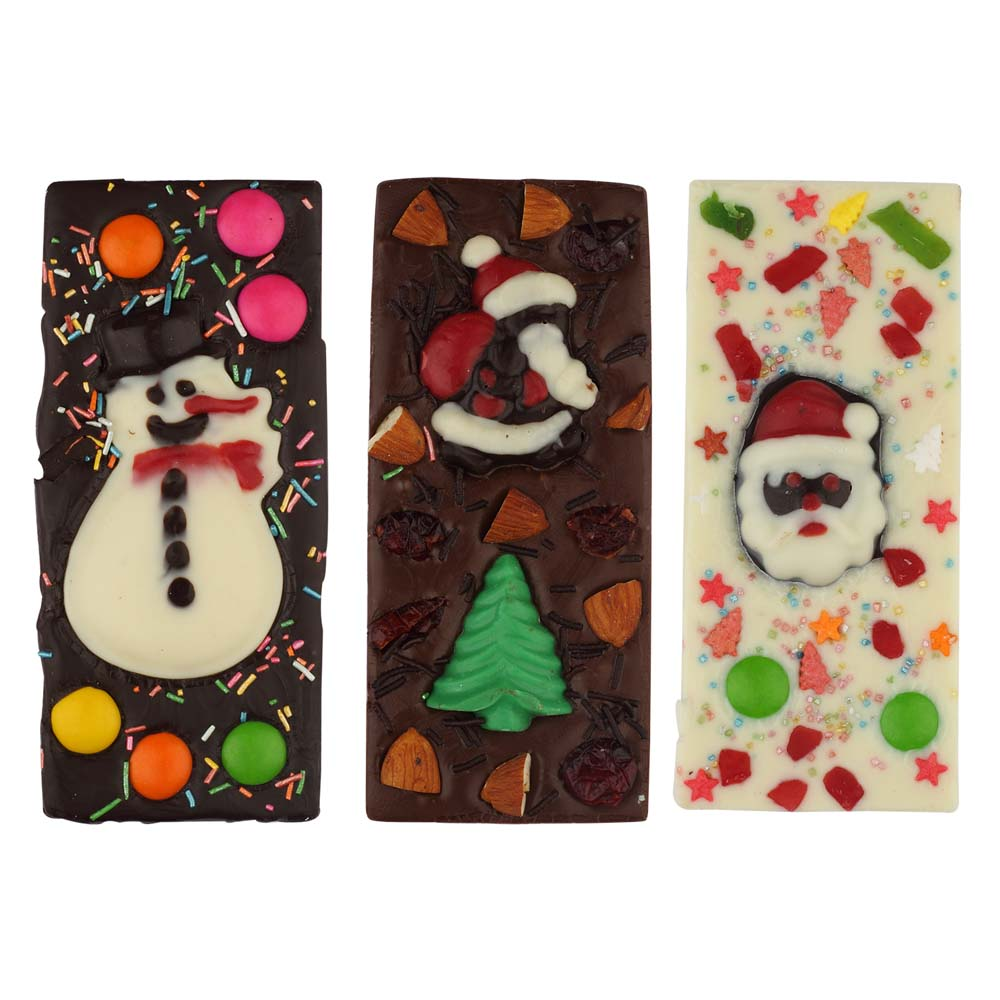 Chocolates & Cookies-Velvet Fine Chocolates'Christmas Bars