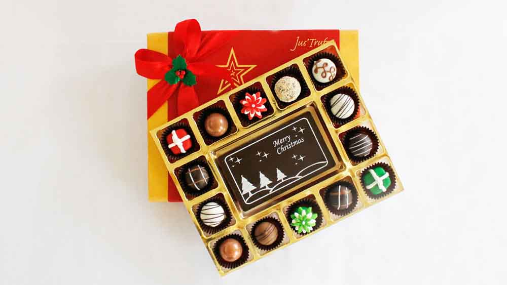 Merry Christmas Cheer with Belgian Chocolate Pralines
