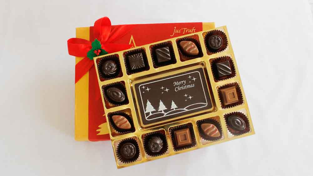 Merry Christmas Cheer with Classic Chocolate Truffles