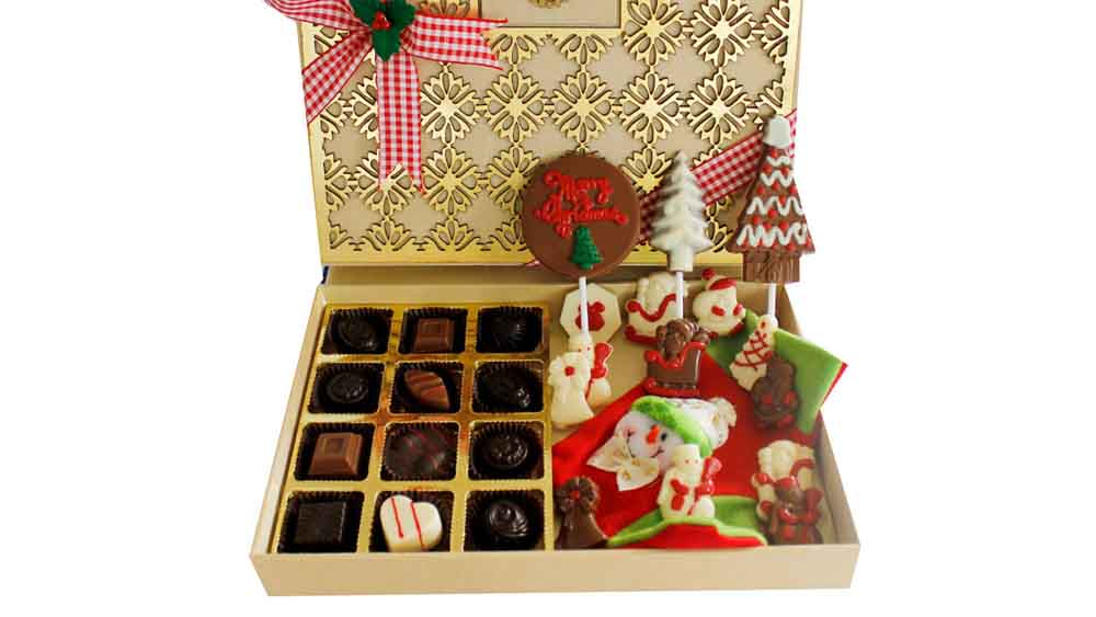 Christmas and New Year Chocolates Designer Treat