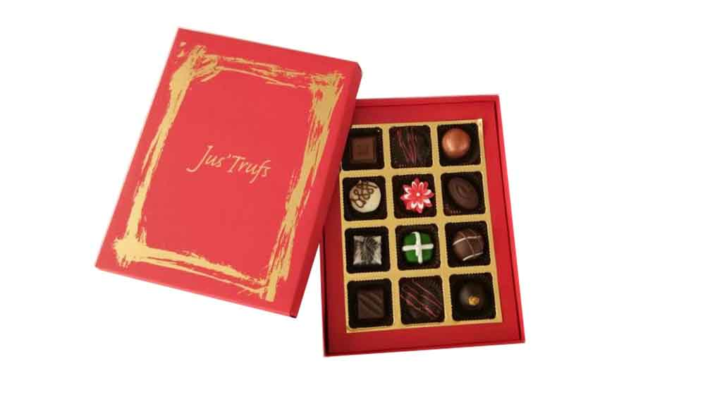 Chocolates & Cookies-Assorted Chocolate Truffles Christmas and New Year Joy
