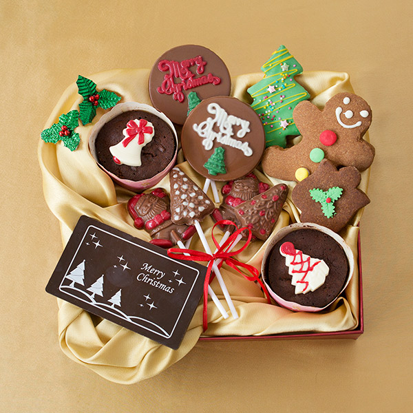 Chocolates & Cookies-Christmas Jolly Gift Hamper