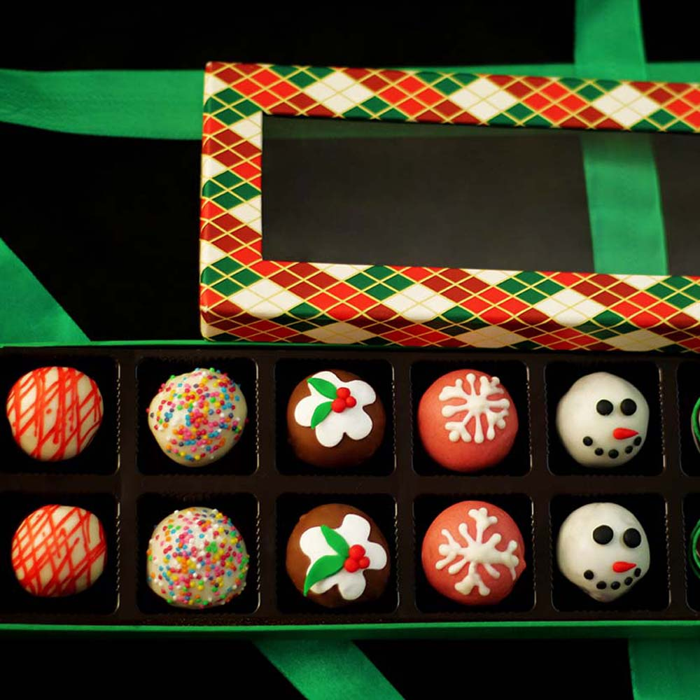Velvet Fine Chocolates Christmas Delicious Truffles