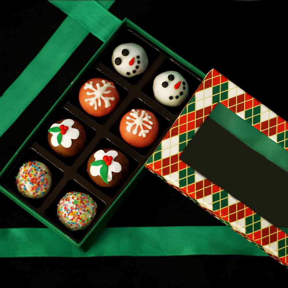 Velvet Fine Chocolates Christmas Sweet Truffles