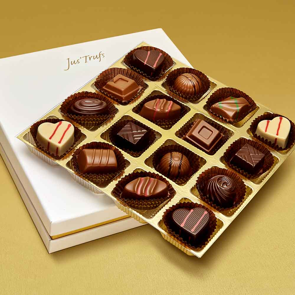 Christmas Premium Assortment of Classic Truffles Box of 16