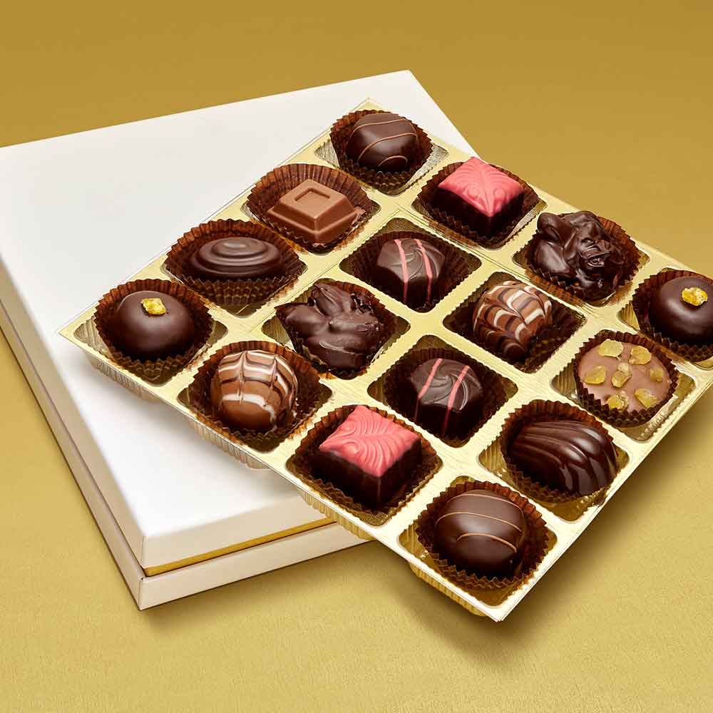 Christmas Luxury Assortment of Chocolate Truffles box of 16