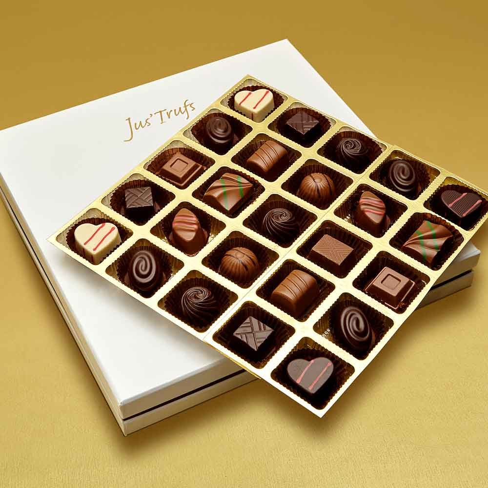 Christmas Premium Assortment of Classic Truffles Box of 25