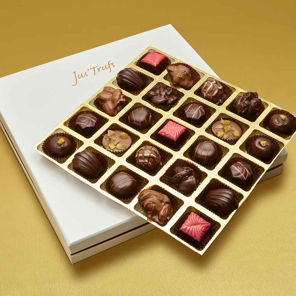 Christmas Luxury Assortment of Chocolate Truffles box of 25